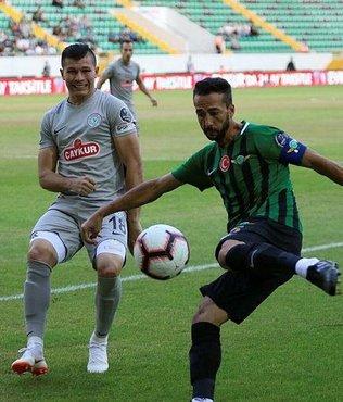 Akhisarspor ve Çaykur Rizespor puanları paylaştı
