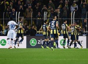 Fenerbahçe - BB Erzurumspor maçından kareler