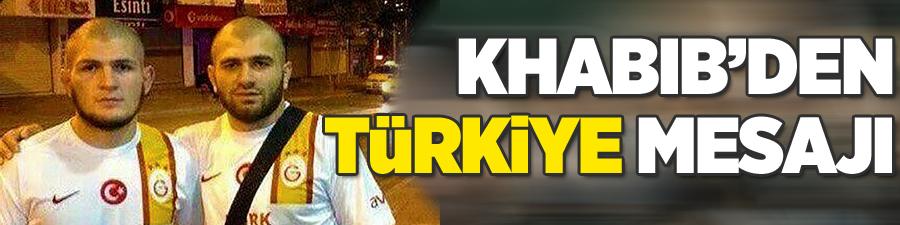 Khabib Nurmagomedov'dan Türkiye mesajı!