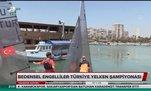 Bedensel Engelliler Türkiye Yelken Şampiyonası'nın ikincisi, Mersin'de gerçekleştirildi
