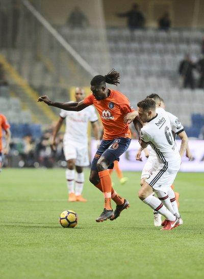 Medipol Başakşehir-Beşiktaş maçından kareler...