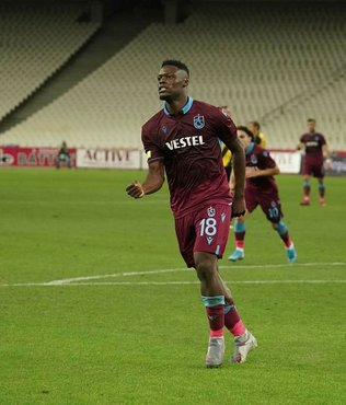Trabzonspor'un yıldızı Ekuban pişman etti