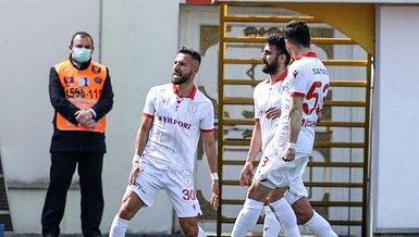 Tuzlaspor - Yılport Samsunspor: 0-2 (MAÇ SONUCU - ÖZET)