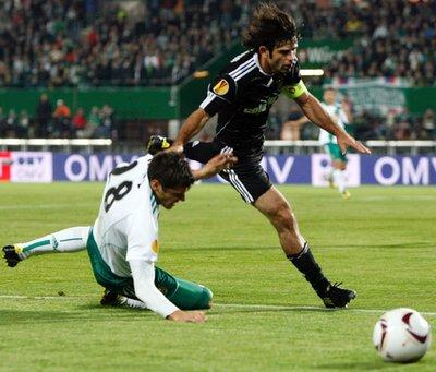 Rapid Wien - Beşiktaş (UEFA Avrupa Ligi L Grubu ikinci maçı)