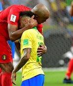 Ağlayan Neymar'a Kompany desteği