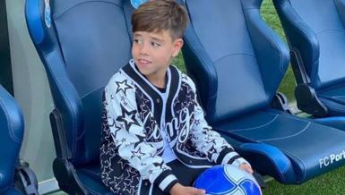 Babasının izinden gidecek! Ricardo Quaresma'nın oğlu Porto'ya imza attı