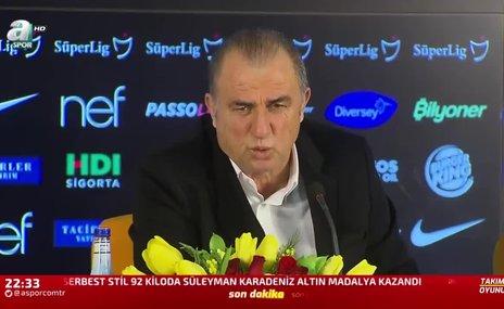 Fatih Terim: Galatasaray nereye giderse gitsin kazanmaya gider