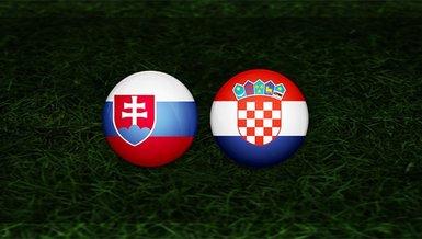 Slovakya - Hırvatistan maçı ne zaman? Saat kaçta ve hangi kanalda? | Dünya Kupası Elemeleri