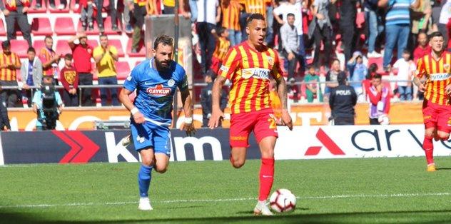 """Kayserisporlu Tjaronn Chery: """"Daha fazla gol atmak istiyorum"""""""