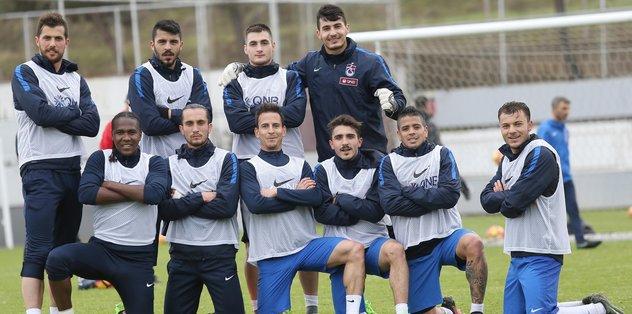 Trabzonspor'da rekabet üst seviyede