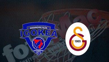 Igokea - Galatasaray basketbol maçı ne zaman? Saat kaçta? Hangi kanalda? | Basketbol Şampiyonlar Ligi