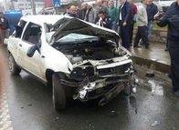 Trabzonlu futbolcu büyük tehlike atlattı