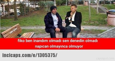 Fenerbahçe - Beşiktaş maçı capsleri!