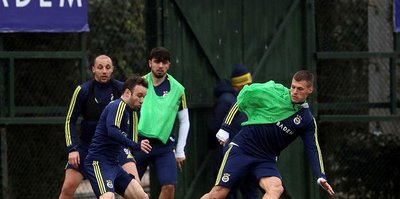 Fenerbahçe'de, Sivasspor maçı hazırlıkları