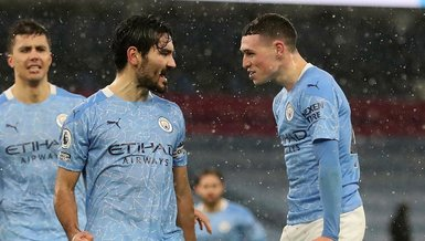 Manchester City - Aston Villa: 2-0 (MAÇ SONUCU - ÖZET)
