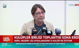Mehmet Sepil'den Rezerv lig açıklaması!