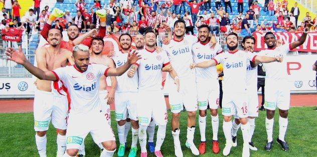Antalyaspor'un tarihi sezonu