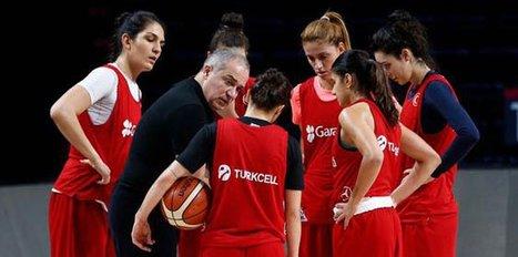 A Milli Kadın Basketbol Takımı Estonya'da