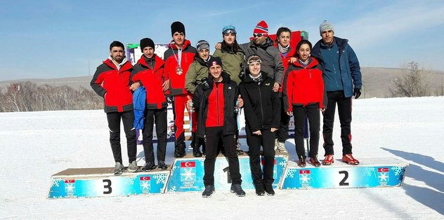 Hakkarili sporcular Türkiye birincisi oldu