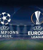Şampiyonlar Ligi ve UEFA Avrupa Ligi'nde kuralar ne zaman çekilecek? CANLI takip...