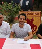 Samsunspor 14'üncü transferini yaptı