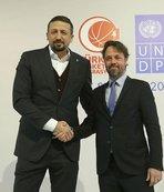 Türkiye Basketbol Federasyonu ile Birleşmiş Milletler (BM) iş birliği yaptı