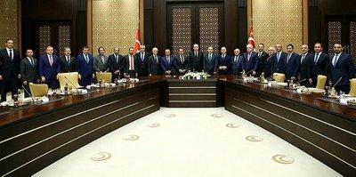 Başkanlar Beştepe'de