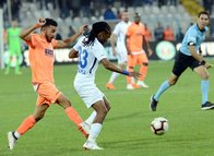 Erzurumspor - Alanyaspor maçından kareler