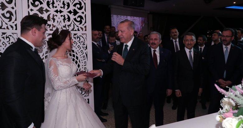 Dünyaevine giren Rıza Kayaalp'in şahidi Erdoğan oldu