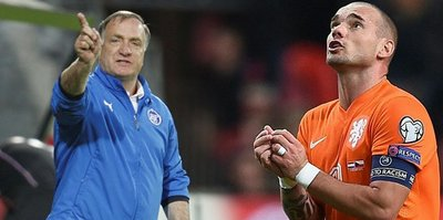 Advocaat'tan Sneijder iddiası!