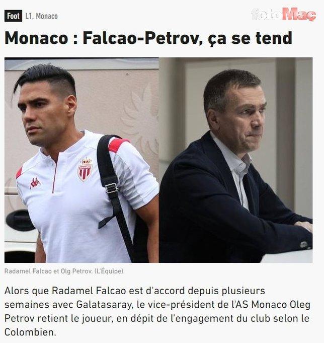Monaco Falcao'yu kandırdı!