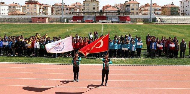 Analig Atletizm Yarı Final Müsabakaları Karaman'da sona erdi