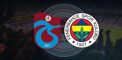 Trabzonspor-Fenerbahçe maçı ne zaman, saat kaçta, hangi kanalda?