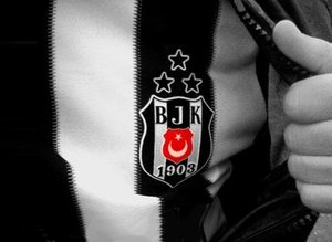 Beşiktaş formasıyla poz verdi