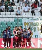 Trabzonspor hedefi tutturamadı ama...