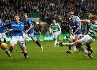 Celtic-Rangers maçında Filistin'e destek (Maçtan kareler)