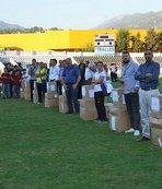 Aydın'da amatör spor kulüplerine malzeme desteği