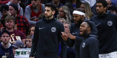 Furkan Korkmaz out indefinitely with knee injury