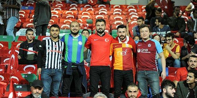 TFF'den Rizeli futbolseverlere teşekkür