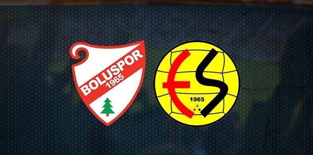 Boluspor Eskişehirspor maçı saat kaçta hangi kanalda canlı yayınlanacak?