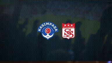 Kasımpaşa - Sivasspor maçı ne zaman, saat kaçta ve hangi kanalda canlı yayınlanacak?   Süper Lig