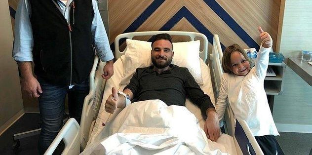 Çaykur Rizesporlu Musa Çağıran ameliyat edildi