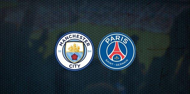 Manchester City - Paris Saint Germain PSG maçı ne zaman, saat kaçta ve hangi kanalda canlı yayınlanacak? | UEFA Şampiyonlar Ligi