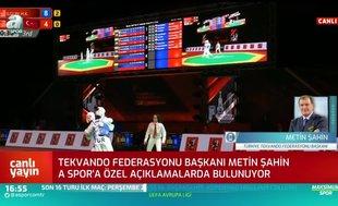 Metin Şahin: Bizim bütün sporculara bakışımız eşittir