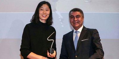 Yılın en iyi voleybolcusu Zhu Ting