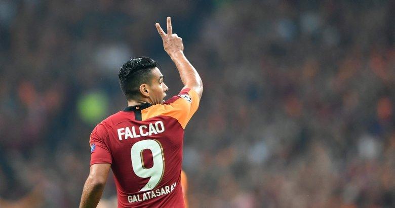 Galatasaray'ın yıldızı Falcao'dan flaş açıklamalar! 'İlk kez yaşadım'