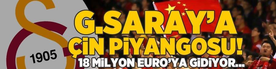 G.Saray'a Çin piyangosu! 18 milyon Euro'ya gidiyor...