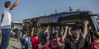 Galatasaray, Gaziantep'e ulaştı