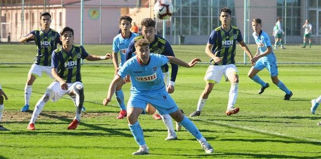 MAÇ SONUCU | Trabzonspor (U17) 2-0 Fenerbahçe (U17)