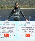 Şahika Ercümen, Atatürk'ü suyun altında anacak